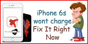 iphone 6s wont charge