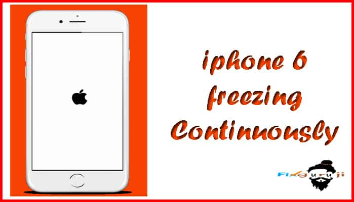 iphone 6 freezing