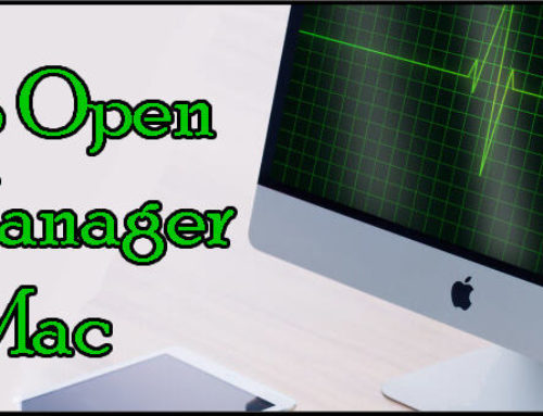 How to Open Task Manager on Mac!