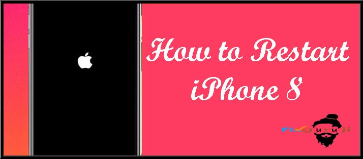 how to restart iphone 8
