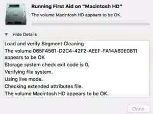 solve-file-system-check-exit-code-is-8
