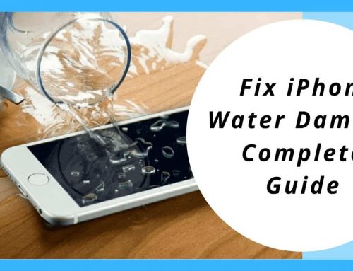 How to Fix iPhone Water Damage- Complete Guide