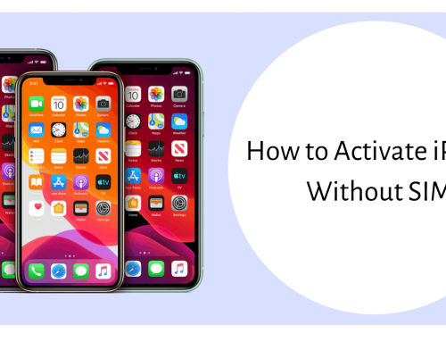 Wonder How to Activate iPhone Without SIM