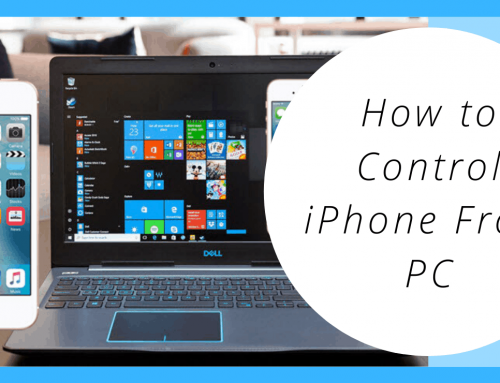 How to Control iPhone From PC