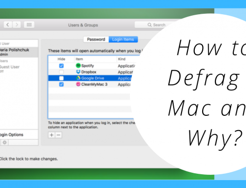 How to Defrag a Mac and Why?