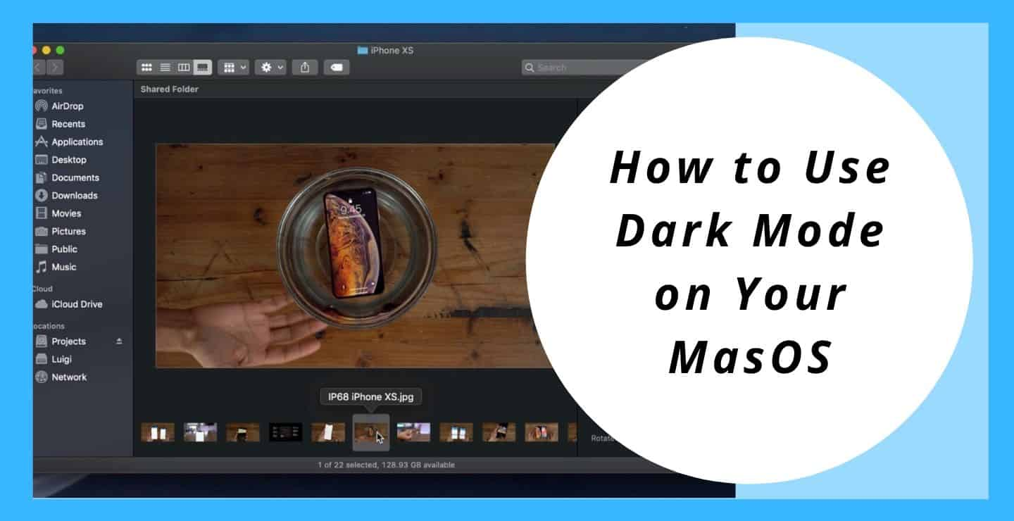 How to Use Dark Mode on Your MacOS