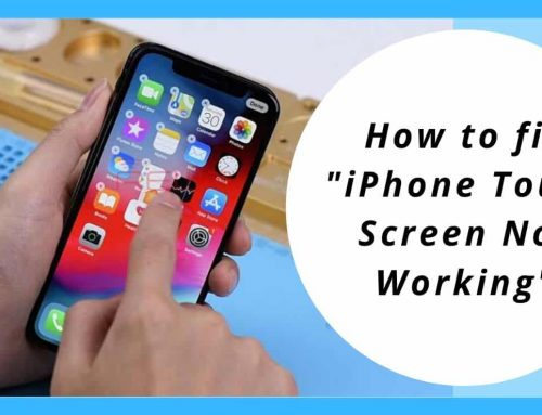 "How to fix""iPhone Touch Screen Not Working"""