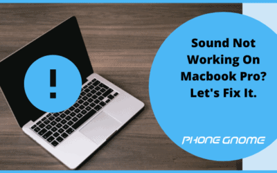 Sound Not Working On Macbook Pro? Let's Fix It.
