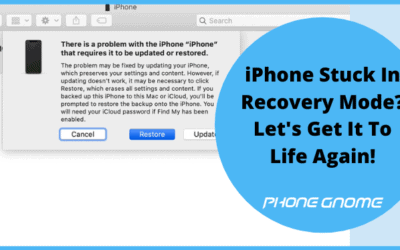 iPhone Stuck In Recovery Mode? Let's Get It To Life Again!