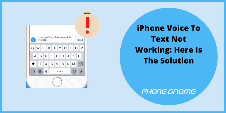 iPhone Voice To Text Not Working: Here Is The Solution