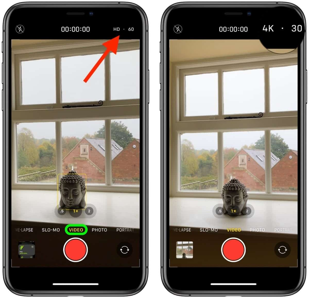 How To Change Video Quality In The Camera App On Iphone 11 And 11 Pro Phone Gnome